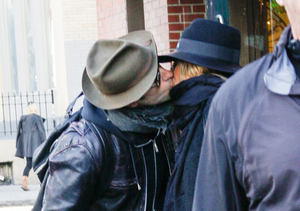PDA Alert! Justin Theroux & Jennifer Aniston Caught Kissing in Soho