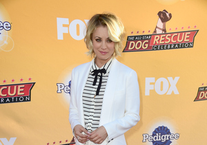 Kaley Cuoco Steps Out Post-Divorce, Hosts Dog-Rescue Event