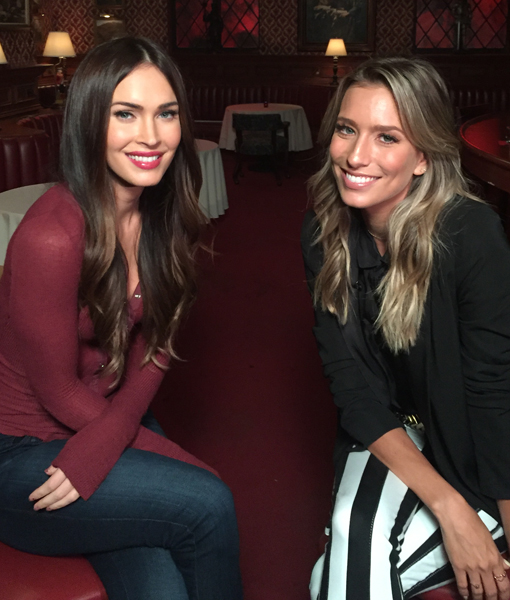 Exclusive: On the 'New Girl' Set with Megan Fox!