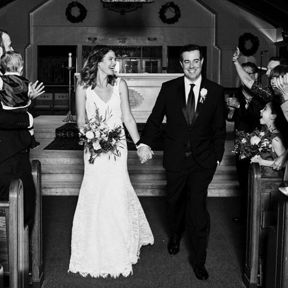 Carson Daly & Siri Pinter Pull Off Surprise Wedding