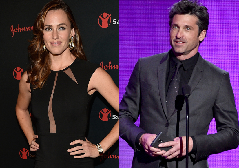 Grey's Anantomy star Patrick Dempsey secretly dating Jennifer Garner?