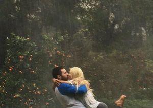Christina Aguilera & Matthew Rutler Caught Kissing in the Rain