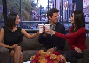 Dunkin' Coffee Talk: Fashion, Winners, and More Golden Globe Predictions!