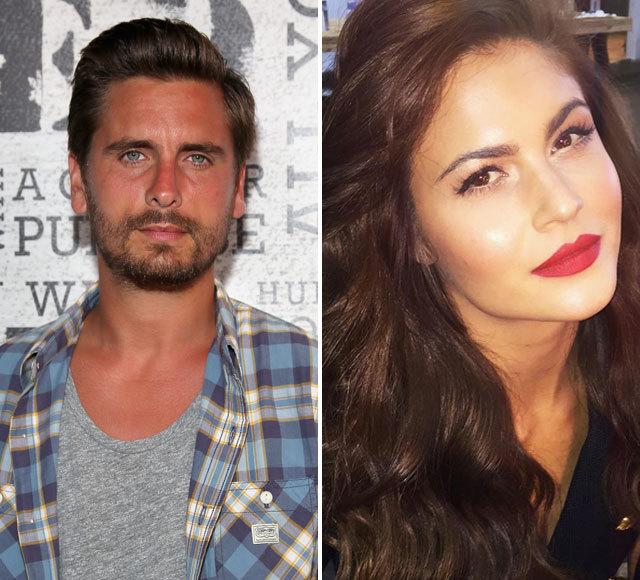 Scott Disick Cozies Up To New Girlfriend In Beverly Hills