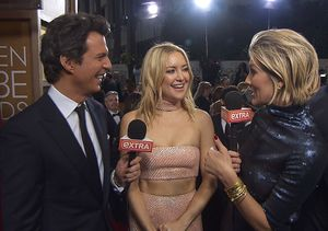 Golden Globes: Charissa Thompson Has a Girl Crush on Kate Hudson