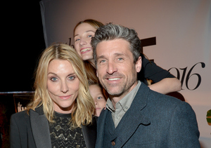 Pics! Patrick Dempsey & Estranged Wife Jillian Reunite at Marie Claire's…
