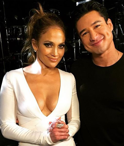 J.Lo-M-G! Mario Lopez Goes One-on-One with Jennifer Lopez in Las Vegas