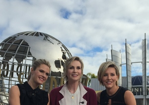 Jane Lynch Makes a Funny Joke About Guardian Angels – Watch!