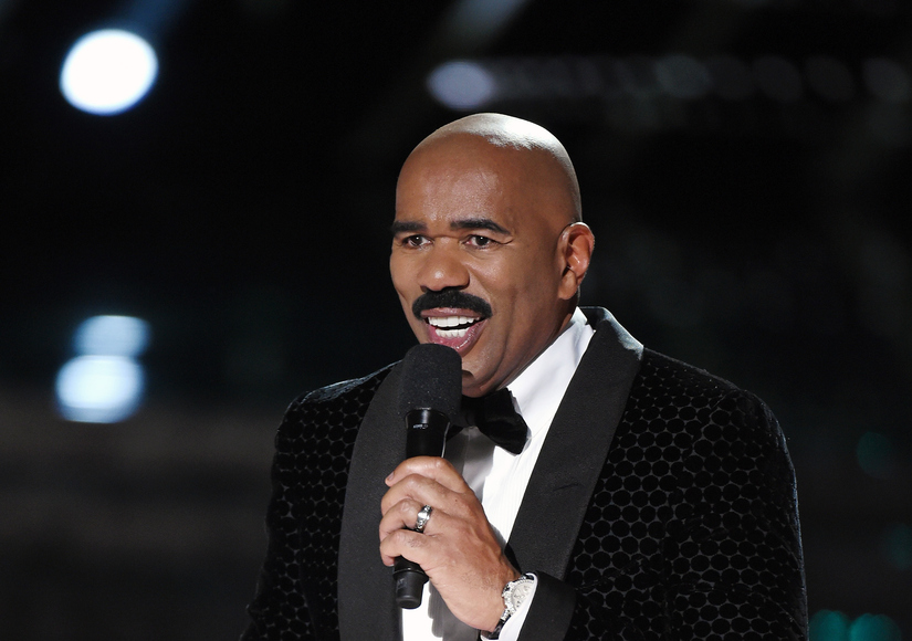 Steve Harvey apologises to Miss Colombia and it got even more awkward