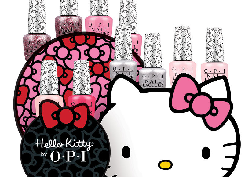 Win It! A Hello Kitty by OPI Nail Lacquer Set