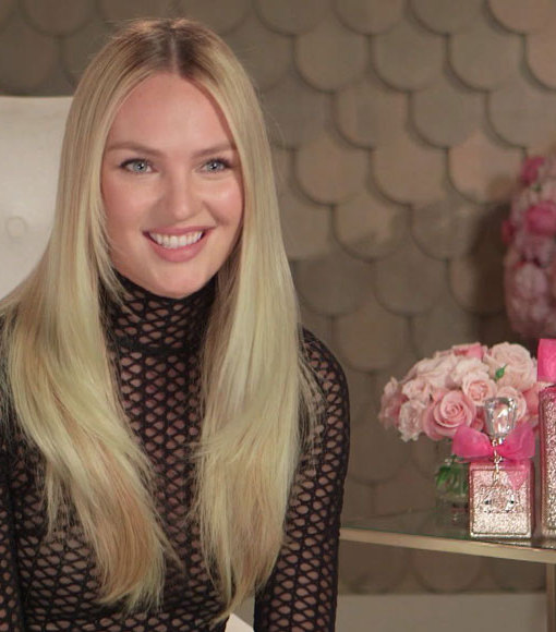 Candice Swanepoel on Juicy Couture, Valentine's Day, and That Nude Photo on the…