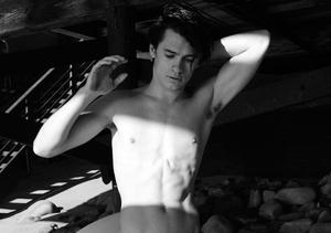 Pam Anderson and Tommy Lee's Son Dylan Shows Off Abs for Yves Saint Laurent