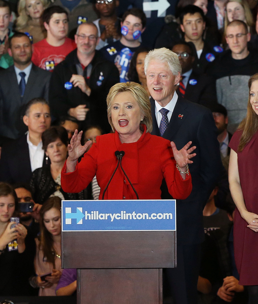 Who Was the 'Sticker Kid' at Hillary Clinton's Iowa Caucus Speech?