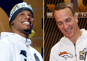 Watch Cam Newton & Peyton Manning's Epic Answers to Pop Culture Questions