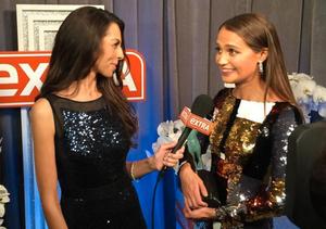 Video! Backstage at the SAG Awards