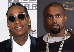 Wiz Khalifa on Kanye West Feud: 'It's All Good'