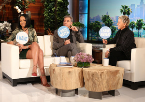 Watch George Clooney & Rihanna Answer Burning Questions in…