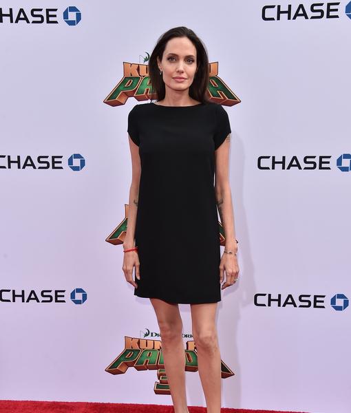 Angelina Jolie Just Got Three New Tattoos