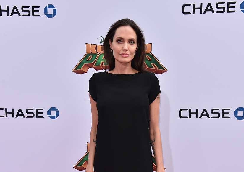 Angelina Jolie Just Got Three New Tattoos