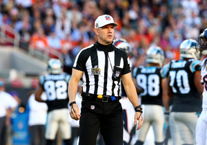 Who Was That Hot Ref at the Super Bowl?