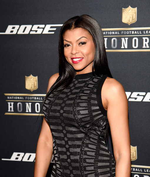 Taraji P. Henson Laughs Off Her Super Bowl Faux Pas