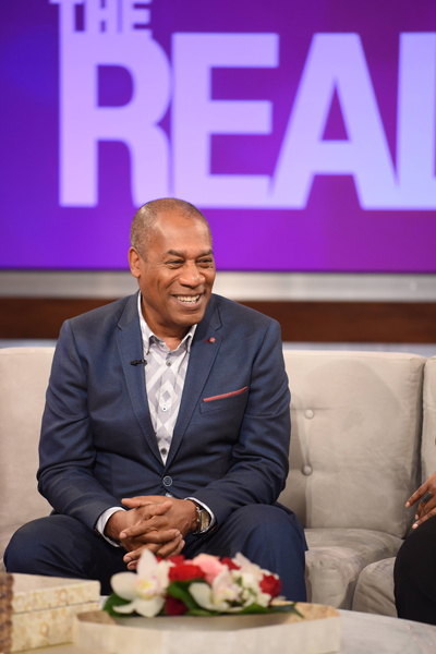 Joe Morton Drops 'Scandal' Secrets on 'The Real'