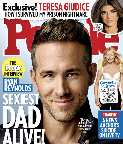 Sexiest Dad Alive! Ryan Reynolds Confesses He Really 'Wanted a Little Girl'