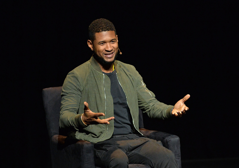 Usher Wants His Sons to Understand That 'It's Okay to Cry'
