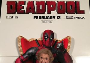 Betty White's Hilarious 'Deadpool' Review: 'I Give It Four…