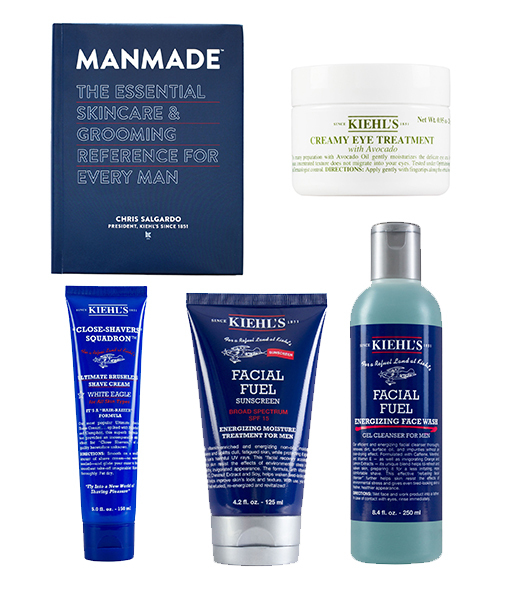 Win It! A Kiehl's Men Skincare Set and Book