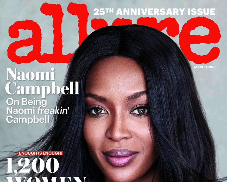 Behind the Scenes: Naomi Campbell's Sexy Allure Cover Shoot