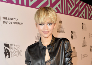 Zendaya Chats About Her New Look at ESSENCE's Black Women in Music Event