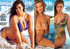 Ashley Graham, Hailey Clauson & Ronda Rousey Cover Sports…