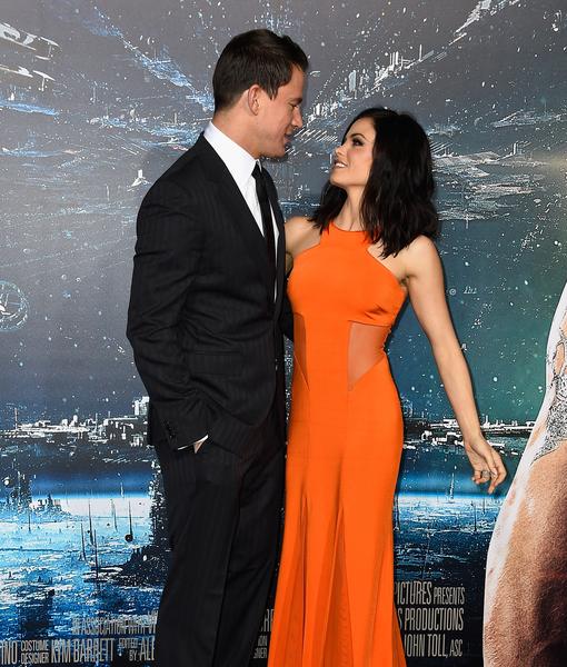 Channing Tatum's Adorable Valentine's Surprise for Jenna