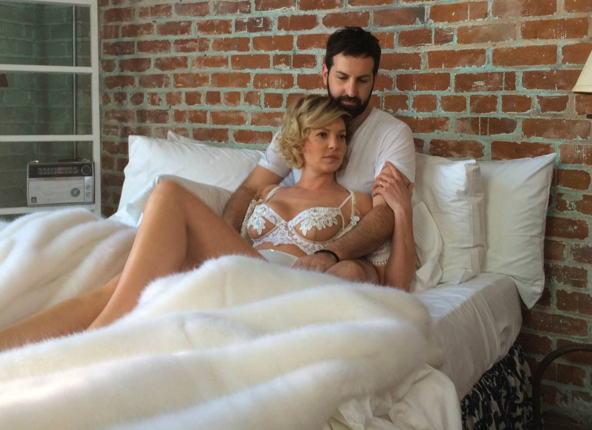 Katherine Heigl Teases Secret Project… While Wearing Lingerie