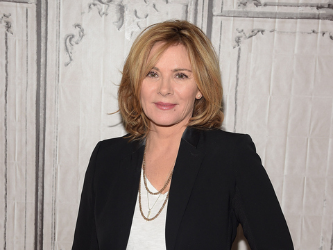Kim Cattrall 'Shaken Up' After Teen Driver Crashed Into Her Home ...