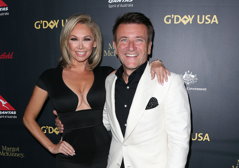 Kym Johnson Robert Herjavec address dating rumors