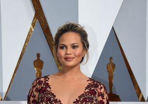 Oscars 2016: Chrissy Teigen's Marchesa Gown Accentuates Her Growing Baby Bump