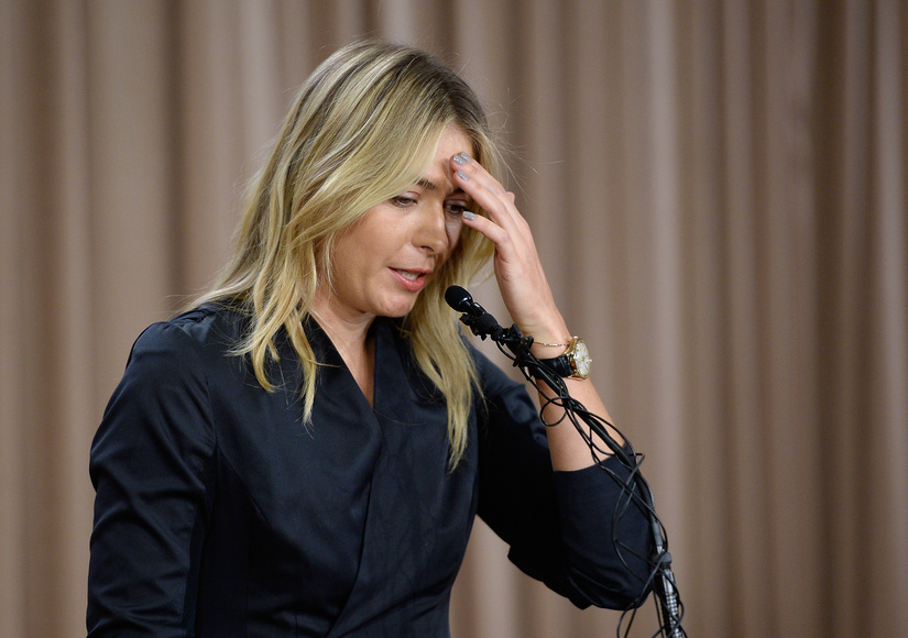 Tennis Star Maria Sharapova Speaks Out After Failing Doping Test