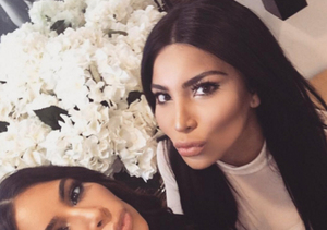 Kim Kardashian Poses with Her Look-alike! Can You Tell Them Apart?