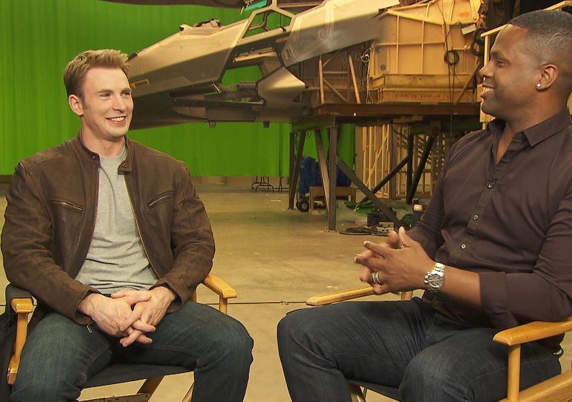 Exclusive: Chris Evans Dishes on 'Captain America: Civil War' During…