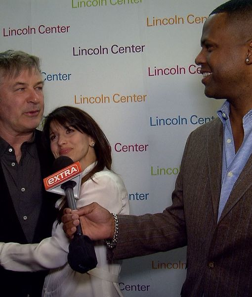 Alec Baldwin Weighs in on Presidential Race, Hilaria Updates 'Extra' on Her…
