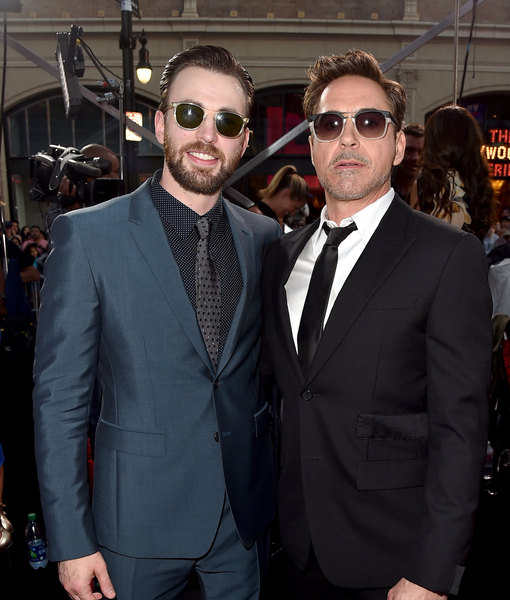 Robert Downey Jr. Jokingly Calls Out Chris Evans for Forgetting His 51st…