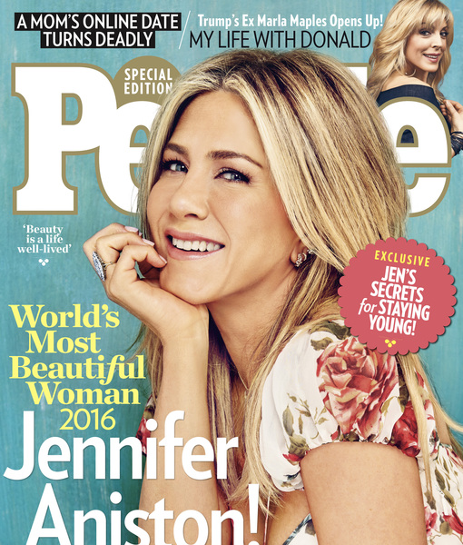 People's Most Beautiful Woman Jennifer Aniston Was Teased for Her 'Bubble…