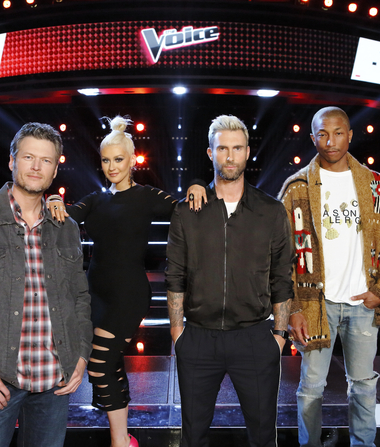 'The Voice' Coaches React to Prince's Death