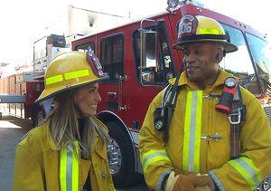 Hallelujah! LL Cool J Says It's Raining Firemen on 'NCIS: Los Angeles'