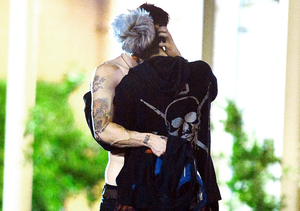 Exclusive Pics! Paris Jackson's Steamy Makeout with BF Michael Snoddy
