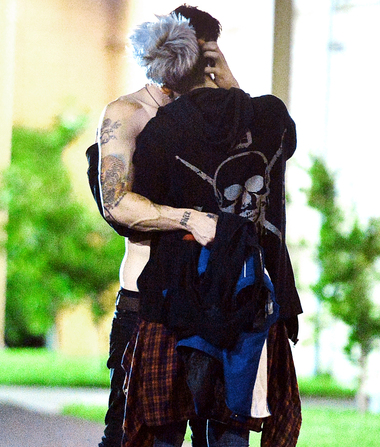 Exclusive Pics! Paris Jackson's Steamy Makeout with BF Michael…