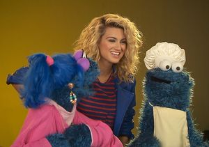 Tori Kelly Hangs with the 'Sesame Street' Gang