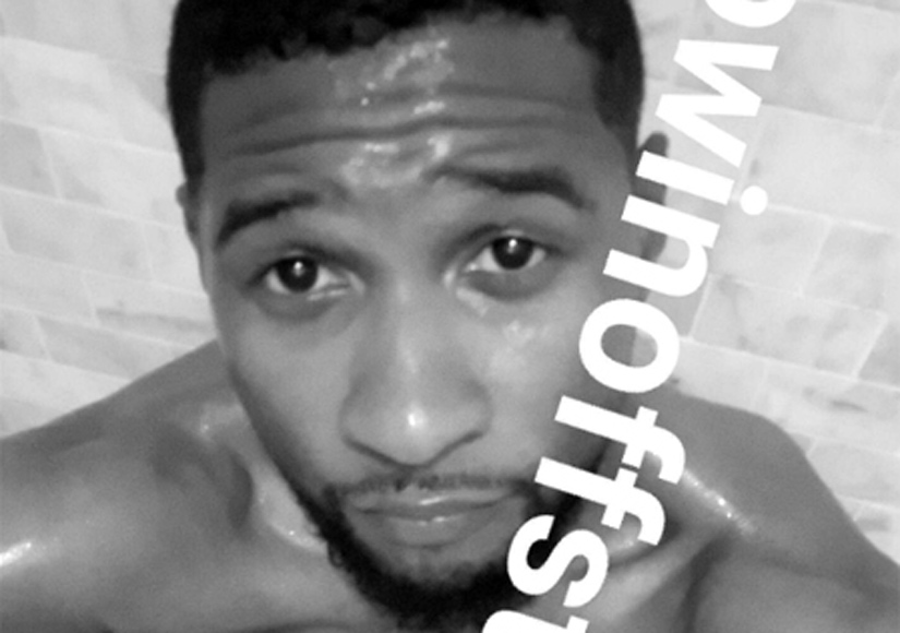 Usher's Naked Selfie: Star Needed 2 Emojis to Cover Up, Not 1!